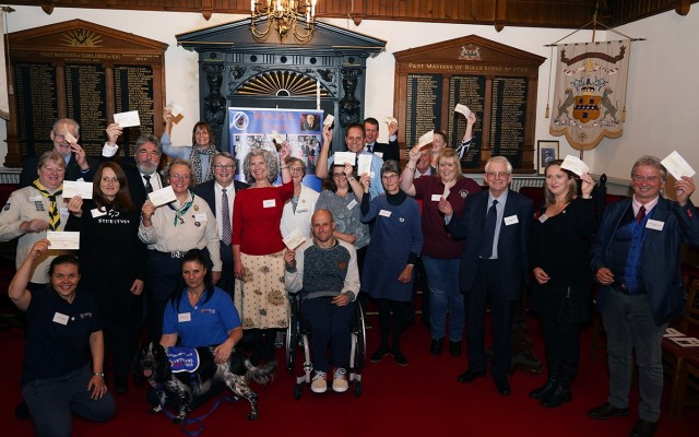 Exmouth Masonic Presentation